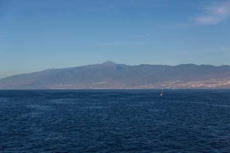 Cliffs of the Los Gigantes (Acantilados de los Gigantes) Tenerife, Spain Stock Photo - 16810993