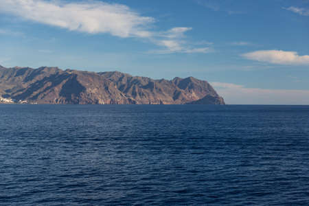 Cliffs of the Los Gigantes (Acantilados de los Gigantes) Tenerife, Spain Stock Photo - 16810915