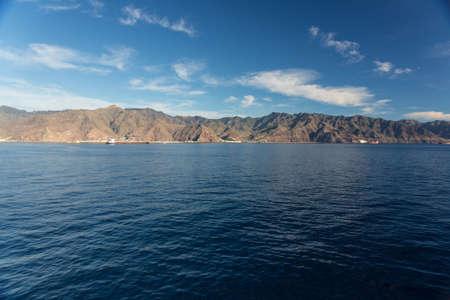 Cliffs of the Los Gigantes (Acantilados de los Gigantes) Tenerife, Spain Stock Photo - 16810922