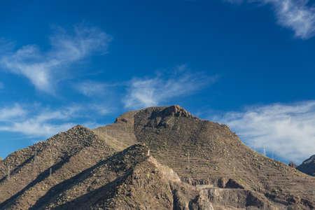 Cliffs of the Los Gigantes (Acantilados de los Gigantes) Tenerife, Spain Stock Photo - 16810930