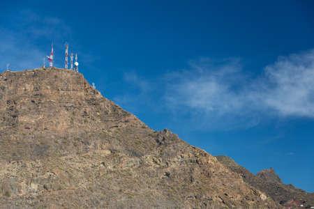 Cliffs of the Los Gigantes (Acantilados de los Gigantes) Tenerife, Spain Stock Photo - 16811899