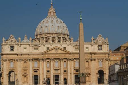 Basilica di San Pietro, Vatican City, Rome, Italy Stock Photo - 16837636