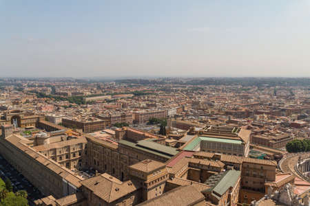 View of Rome, Italy photo