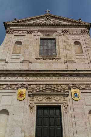 Great church in center of Rome, Italy. Stock Photo - 16844543