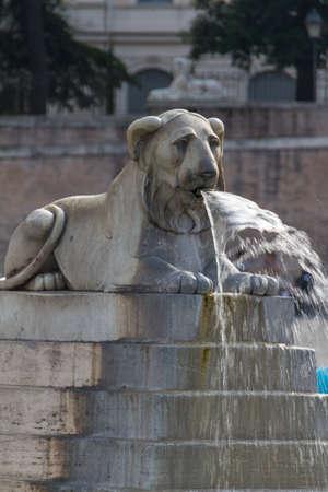 Piazza del Popolo in Rome Stock Photo - 16837820