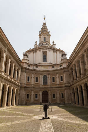 Great church in center of Rome, Italy. Stock Photo - 16842889