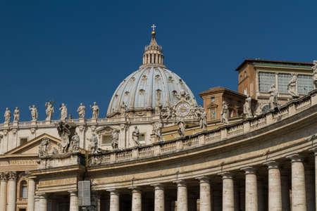 Basilica di San Pietro, Vatican City, Rome, Italy Stock Photo - 16837823