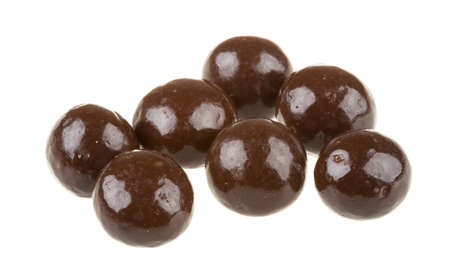 Chocolate covered nuts Stock Photo - 16897630