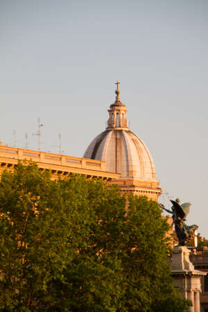 Great church in center of Rome, Italy. Stock Photo - 16899895