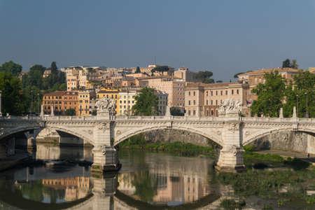 Rome bridges Stock Photo - 16899578