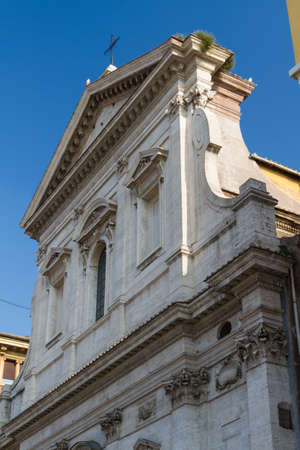 Great church in center of Rome, Italy. Stock Photo - 16899422