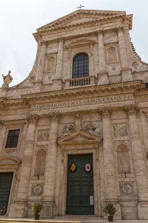 Great church in center of Rome, Italy. Stock Photo - 16899537