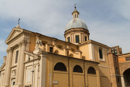 Great church in center of Rome, Italy. Stock Photo - 16899358