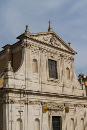 Great church in center of Rome, Italy. photo