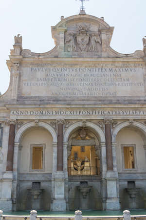 Great church in center of Rome, Italy. Stock Photo - 16898089
