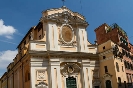 Great church in center of Rome, Italy. Stock Photo - 16899385