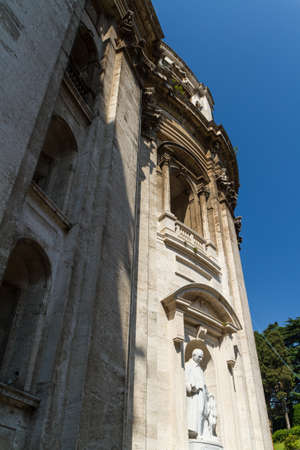 Great church in center of Rome, Italy. Stock Photo - 17035191