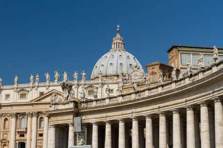 Basilica di San Pietro, Vatican City, Rome, Italy Stock Photo - 17034988