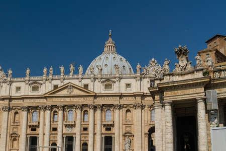 Basilica di San Pietro, Vatican City, Rome, Italy Stock Photo - 17034981