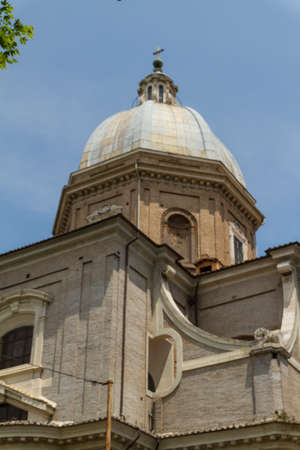 Great church in center of Rome, Italy. Stock Photo - 17089157