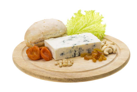 Cheese with mold Stock Photo - 17175090