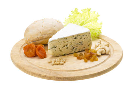Cheese with mold Stock Photo - 17175087