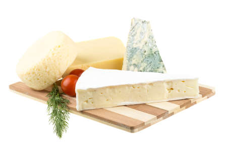 Variety of cheese: ementaler, gouda, Danish blue soft cheese and other hard cheeses Stock Photo - 17204799
