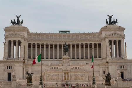 Monument of Vittorio Emanuele II in Rome, Italy Stock Photo - 17201952