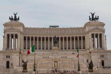 Monument of Vittorio Emanuele II in Rome, Italy Stock Photo - 17201952