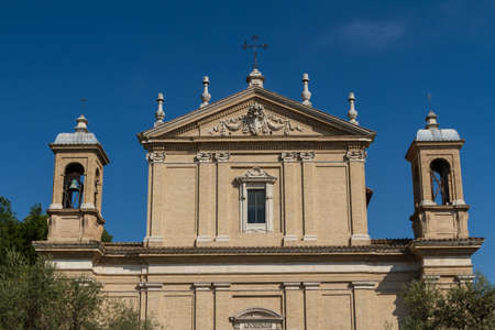 Great church in center of Rome, Italy. Stock Photo - 17242539
