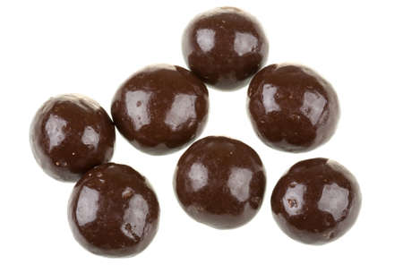 Chocolate covered nuts Stock Photo - 17246563