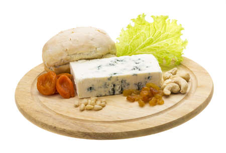 Cheese with mold photo