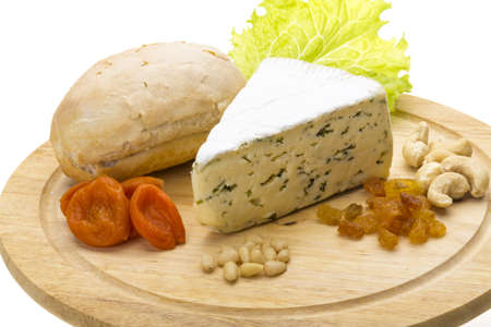 Cheese with mold Stock Photo - 17279289