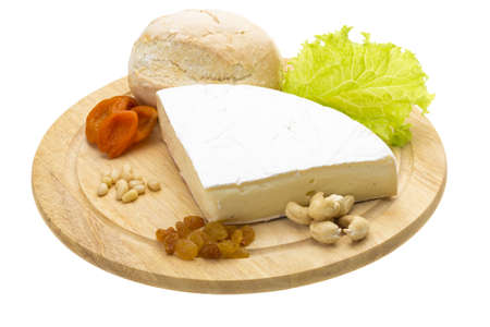 piece of Brie cheese Stock Photo - 17279526