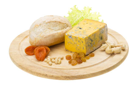 Cheese with mold Stock Photo - 17279481