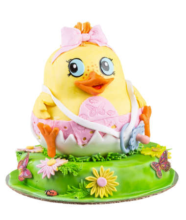 Children cake Chicken photo