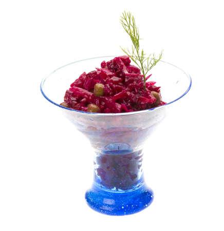 Vinaigrette Russian beetroot salad Stock Photo - 17366505