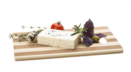 Cheese with mold Stock Photo - 17366520