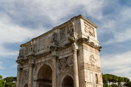 The Arch of Constantine, Rome, Italy photo