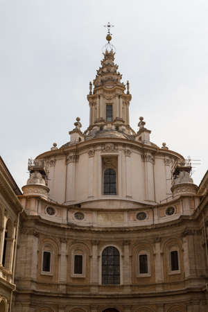 Great church in center of Rome, Italy. Stock Photo - 17388112