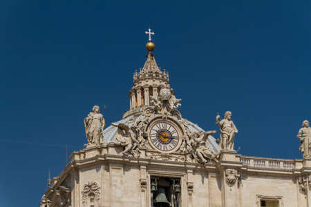 Basilica di San Pietro, Vatican City, Rome, Italy Stock Photo - 17379578