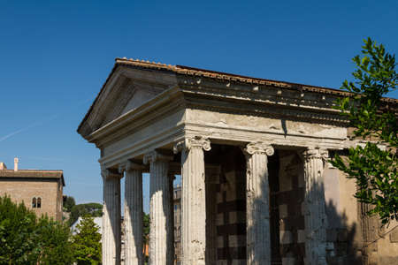 Great church in center of Rome, Italy. Stock Photo - 17388076