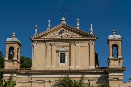 Great church in center of Rome, Italy. Stock Photo - 17406799