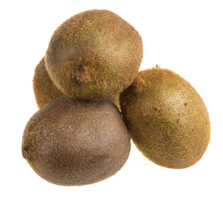 Isolated Kiwi fruits photo