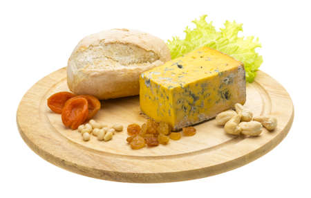 Cheese with mold Stock Photo - 17406844