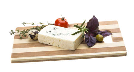 Cheese with mold Stock Photo - 17489456