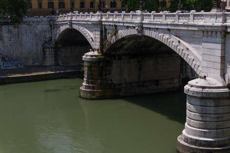 Rome bridges Stock Photo - 17490013