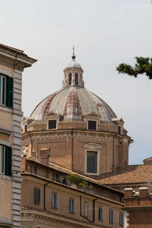 Great church in center of Rome, Italy. Stock Photo - 17489573