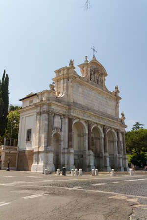 Great church in center of Rome, Italy. Stock Photo - 17489530