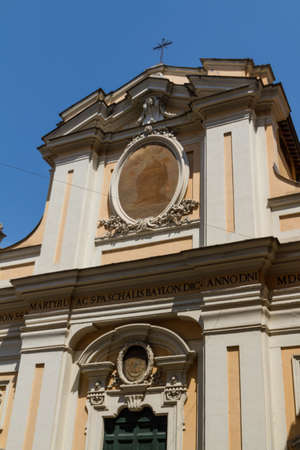 Great church in center of Rome, Italy. Stock Photo - 17489562